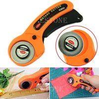 Wholesale Tracking Fixed Blade - Free Shipping 45mm Rotary Cutter Premium Quilters Sewing Quilting Fabric Cutting Craft Tool order<$18no track