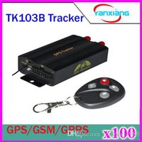 Wholesale Global Track System - 100pcs TK103B Vehicle GPS Tracker TF Card GPS GSM GPRS Real Time Global Track -Based Car GPS Tracking System With Remote Control ZY-DH-07