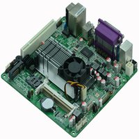 Wholesale Atom D425 - Wholesale-Cheap Mini Itx industrial motherboard Intel Atom D425 5*COM DC12V LVDS POS Machine Industrial Motherboards M4S_D5