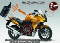 Wholesale Ce Motorcycle Alarm - car NEW RFID Motorcycle alarm,english voice lock or unlock,shock sensitivity,immobilizer alarm,transponder tag  card learning, M7126 car