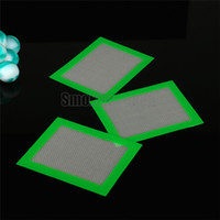 Wholesale Smoking Dogo Big Small Sizes Non Stick Silicone Pad Silicone Baking Mat Nonstick Green Color Silicone Mat Silicone Dab Mat Dab Pad