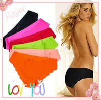 Wholesale Girls Underwear Sex - Wholesale-Free Shipping! 2014 New Women Underwear Pants Girls Fashion Panties Lingerie Sex Ailei Si Ultrathin Trace 3pcs Lot C05