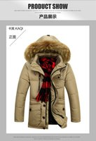 Wholesale Winter Clearance Down Coats Men - Fall-Men's down jacket thick warm coat jacket 2015 men's genuine long winter coat special clearance casual jacket collar Nagymaros