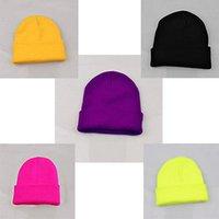 Wholesale Crochet Trapper Hat - Wholesale-Womens Lady Winter Warm Knitted Crochet Slouch Baggy Beret Beanie Hat Cap