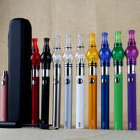 ingrosso cassa della batteria di vetro-Hot EVOD Battery Starter Kit con batteria ego vetro globle wax dry herb Vaporizzatore atomizzatore Clearomizer penne vape penne kit cerniera