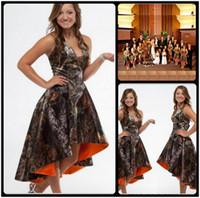 Cheap Orange Camo Bridesmaid Dresses | Free Shipping Orange Camo ...