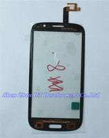 Wholesale Original Thl W8 - Wholesale-Original Touch Screen Digitizer glass panel Lens Assembly Replacement For THL W8 HD 1280*720 Cell Phone Black Color