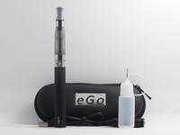 Wholesale free electronic kits for sale - Group buy Top quality CE4 eGo Starter Kit Electronic Cigarette Zipper Case Single Kit E Cigarette mah mah mah DHL