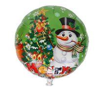 ingrosso palloncino di elio di nozze-18 Inch Christmas Santa Foil Balloons Palloncini a elio per bambini Giocattoli Matrimonio Compleanno decorazioni per feste