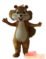 Wholesale squirrel mascot costumes - Custom squirrel mascot costume free shipping