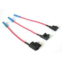 Wholesale Wholesale Fuse Holder - ACN TAP Mini Add-a-circuit ATM Low Profile Blade Style Fuse Holder 16AWG cable for auto