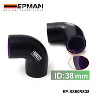 Radiator & Parts Guangdong, China (Mainland) EP-SS90RS38 EPMAN Universal 1.5'' 3 Ply 90 Degree Elbow Silicone Hose Coupler 38 MM Turbo Intake EP-SS90RS38