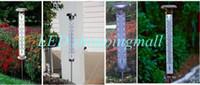 ordenando luces solares al por mayor-Envío gratis, con energía solar, al aire libre LED, termómetro, jardín, jardín, jardín, césped, luz, venta minorista, pedido $ 18no seguimiento