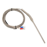 Wholesale New M Stainless Steel Thermocouple K type mm Probe Sensor Degree