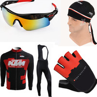 Wholesale Clothes Cyclist - Cycling jersey 2016 KTM black clothing gloves maillot cyclist ropa ciclismo Radtrikot roupas cyclist Outdoor Sport Mountain Bike Equipment