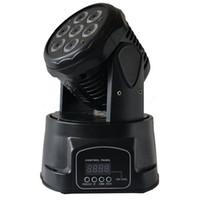 Wholesale Club Lights Moving - 7*12W RGBW 4-in-1 LED Moving Head wash lights led stage lighting for dj club,party and Show