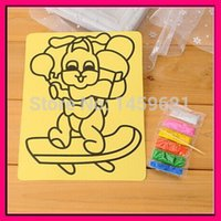 Wholesale Wholsale Material - Wholesale-color sand for sand painting sand art different colors sand mixed for educational toys materials big stock wholsale