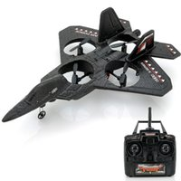 "Wholesale Air Force Jet - Wholesale-RC Quadcopter Jet Fighter ""Air Force X"" - 2.4GHz Frequency, 100 Meter Range,3-Axis"