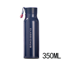 China Mainland sports lettering - Double stainless steel vacuum cup male Ms outdoor sports water bottles portable upright lettering mug travel cups