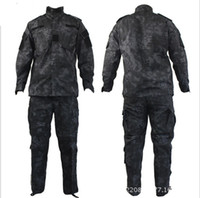 Tactical Rattlesnake Mandrake BDU Uniform Combat Suit Set Shirt Pants Ripstop для пистолета-истребителя с типом Kryptek