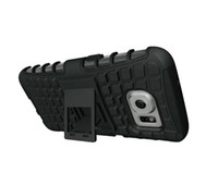 Wholesale s4 mini case wholesale online - Hybrid KickStand Impact Rugged Heavy Duty TPU PC case Cover for Samsung Galaxy s4 s5 S5 MINI s6 s6 edge s7 A3 A5