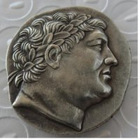 Wholesale King G - G(17) Superb Ancient Greek Silver Tetradrachm Coin of King Attalos of Pergamon - 241BC Copy Coins