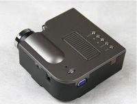 micro projecteur sd achat en gros de-Gros-NOUVEAU projecteur de jeu UC28 avec HDMI Mini Micro AV LED Vidéo numérique multimédia Home cinéma Portable Support HDMI VGA AV USB SD