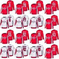Wholesale Lars Eller Jersey - 2018 Washington Capitals Hockey Jerseys 77 T.J. Oshie 92 Evgeny Kuznetsov 8 Alex Ovechkin 20 Lars Eller 19 Nicklas Backstrom Jerseys Stitch