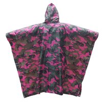 Rose Russet Yellow Adult Camo polyester Raincoat Waterproof Rain Coat Men Women Мотоцикл Rain Poncho для кемпинга Рыбалка