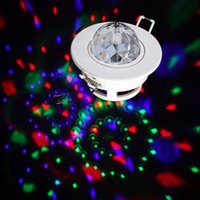 Crochets gros conception plafond couleur RVB Stage de lumière Moving Head Parti Effect LED Active Sound Rotating DJ Disco Lampe