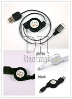 carregador recarregável do telefone usb venda por atacado-Estique o cabo de carregamento elástico do cabo para o telefone de Samsung Galaxy S3 S4 i9100 HTC 5 5 cabo retrátil do carregador USB micro flexível DHL