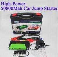 Wholesale car batteries direct resale online - 50800mAH Multi Function Car Battery Charger emergency Car Jump Starter phone Power Bank Laptop External Rechargeable Battery Factory Direct