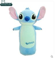 Wholesale Pillow Toy Stitch - Dorimytrader 20''   50cm Super Lovely Stuffed Soft Plush Big Cartoon Stitch Pillow Toy, Nice Gift For Babies, Free Shipping DY60687