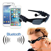 Smart Glasses Sports Stereo Wireless Bluetooth 4.0 Headset Telephone Polarized Driving Óculos de sol / mp3 Riding Eyes Glasses