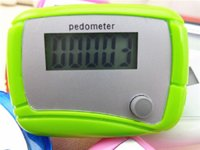 Wholesale Cheap Digital Counters - Pocket LCD Pedometer Mini Single Function Step Counter LCD Step Pedometer Digital Walking Counter Multi-colors Cheap Price Wholesale