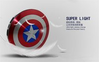 Wholesale Captain America Retail Box - Power Bank 6800mAh Captain America Power bank Dual USB charger for smart mobile phone 6800mah Universal Portable With Retail Box