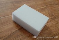 Wholesale Gray Magic Sponge Eraser Melamine Cleaner multi functional Cleaning x60x20mm Retial TY8