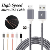 Wholesale Cooper Types - USB Charging Cable Fabric Braided 56K Ohm Resistor Cooper Data Sync USB Cable High Speed Charging Cable Type C Cord for Samsung S8