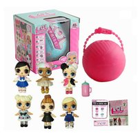 Wholesale Interactive Dolls - Girls Dolls LOL Surprise Lil Sisters Series 2 Lets be Friends Action Figures Toys Baby Doll with retail box Kids Gifts