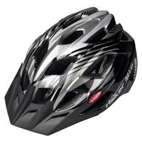 Wholesale Cascos Ciclismo Mtb - Hot Adults Bicycle Bike helmet 23 Air Vents Cycling Helmets Road MTB Bicycle Helmets Size L Green Blue Black Cascos Ciclismo 4 Colors