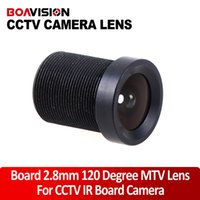 Wholesale Lenses For Board Cameras - MTV Board 2.8mm Fixed Iris 120 Degree Wide Angle LENS For CCTV Security Camera