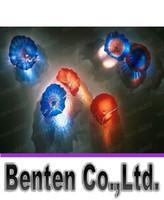Wholesale Cheap Chihuly - Hand Blown Glass CE UL Certificate Chihuly Borosilicate Glass Art Cheap Wedding Decorative Glass Plate Wall Art LLFA3866F