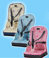 Wholesale Portable Booster Seat mamiyani Baby Highchair Seat Baby Travel High Chair Seats Dinning Chair s Package