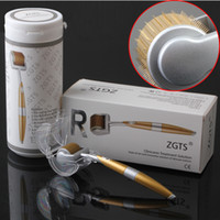 Wholesale Cellulite Rollers - ZGTS Derma Roller 192 Needles Skin Roller Microneedle Cellulite Anti Aging Age Pores Refine 0.2-2.5MM