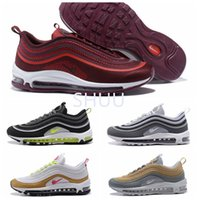 New Air 97 UL 17 Treinadores Racer Gold Star Running Shoes 97 Neon Wolf Grey 97 Ultra Premium Designer sapatos Eur 40-46