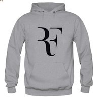 Wholesale Blue Red Crewneck - Roger Federer Sweatshirt European Style Tennies Sport Suit For Men Prefect Print Crewneck Primitive Hoodie Autummn Roger Federer 0968