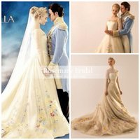 Wholesale Sexy Glamourous Wedding Dresses - 2016 New arrival glamourous Colorful Embroidery Wedding Dresses Custom Made Fashion long sleeves bridal gowns