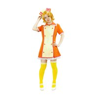 Wholesale Vocaloid Kagamine Len - Milica Books Japanese Anime VOCALOID Love Colored Ward Kagamine Rin  Kagamine Len Nurse Cosplay Costume - Deluxe Original Version