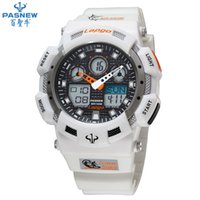 Wholesale Sport Watch For Diving Swimming - Wholesale-HOT sale Pasnew PLG-1002AD diving watch waterproof 100m Countdown swimming Stopwatch digital watch sport watches for men w076