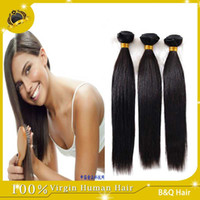 Wholesale Ombre Hair Extensions For Wholesale - Hot Sale 8A Virgin Human Hair For 8-30 inch Hair Brazilian Malaysian Peruvian Indian Hair Extensions Weave Fastest Delivery Straight Hair